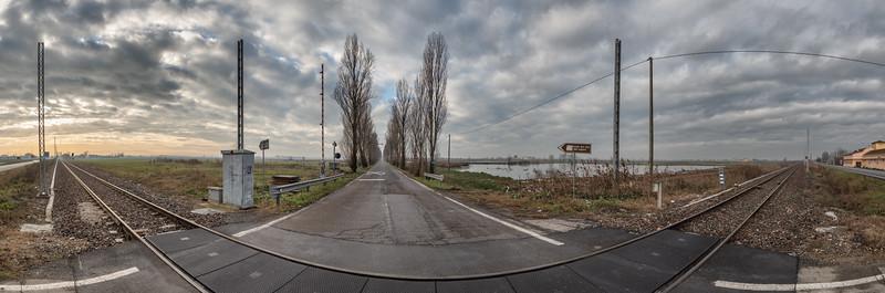 Strada della Vittoria - Novellara, Reggio Emilia, Italy - December 15, 2019