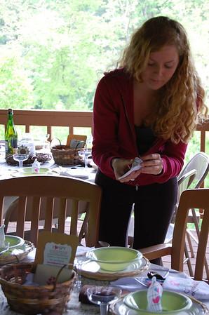 Julies Wedding - Preparing