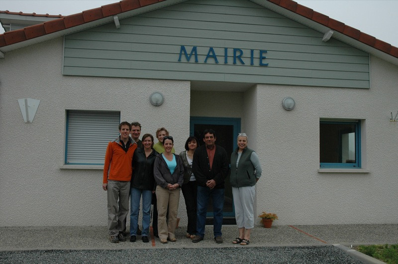 Meeting the Mayor - Bearn, France