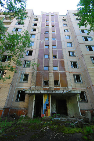 Chernobyl Appartment Blocks 2012.