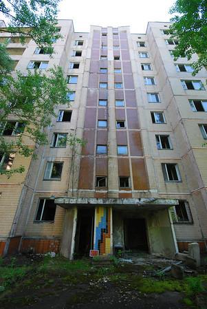 Chernobyl Appartment Blocks 2012.