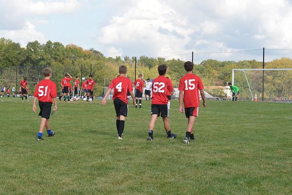 Middle School Boys Soccer: GA vs GFS