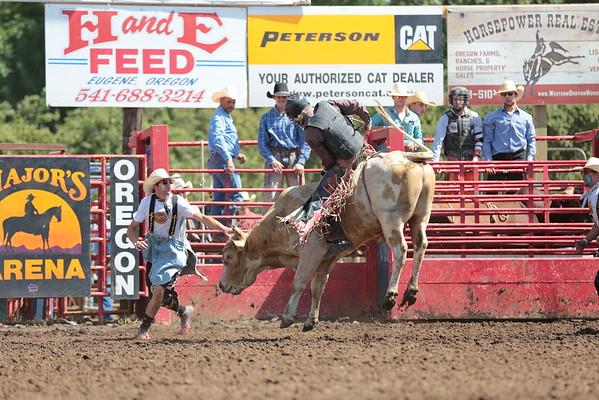 2015 Eugene Pro Rodeo Bullfighters