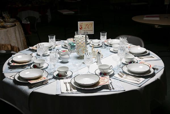 Advent Dinner 2012 - Thursday Night Tables
