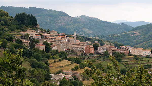 Un village ardéchois
