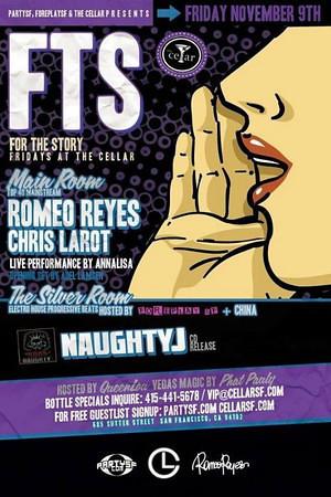 FTS @ The Cellar -SF 11.9.12