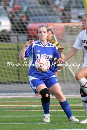 Lampeter-Strasburg Girl's JV/V Soccer v. Warwick 5.1.12