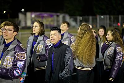 2019 TCHS Band Senior Walk