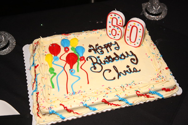 Chris' 60th Birthday Party