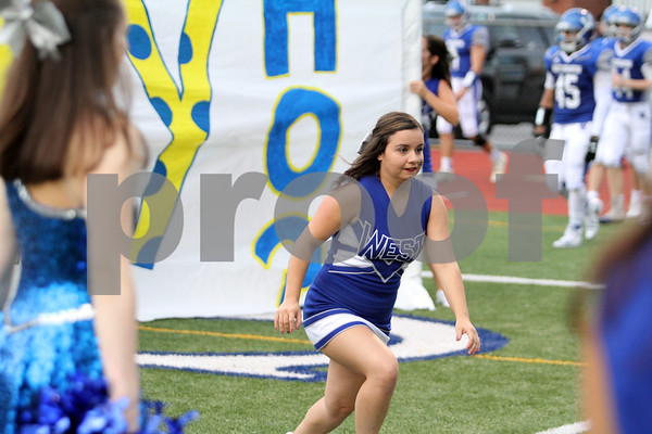 West Scranton Band and Cheer , Valley View game2018