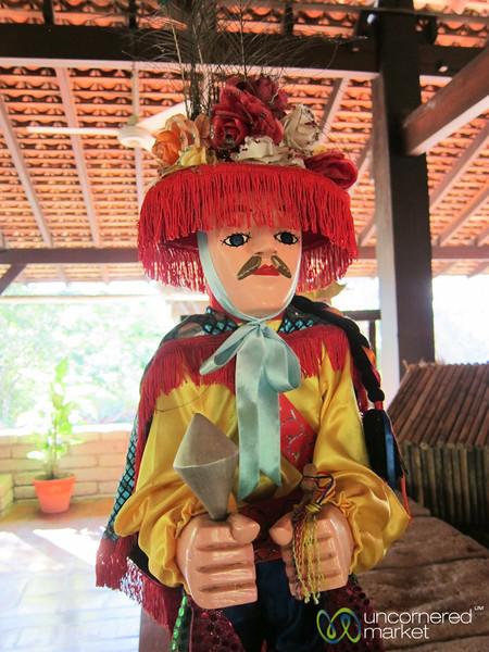 El Güegüense Dancer Dolls - Morgan's Rock, Nicaragua
