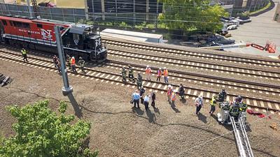 Train Collision (Bridgeport, CT) 7/12/18