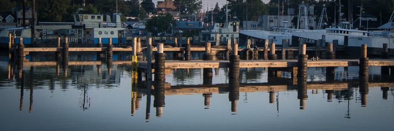Tug basin at dawn