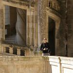 Dans un château de la Loire, me familiarisant avec le K20d