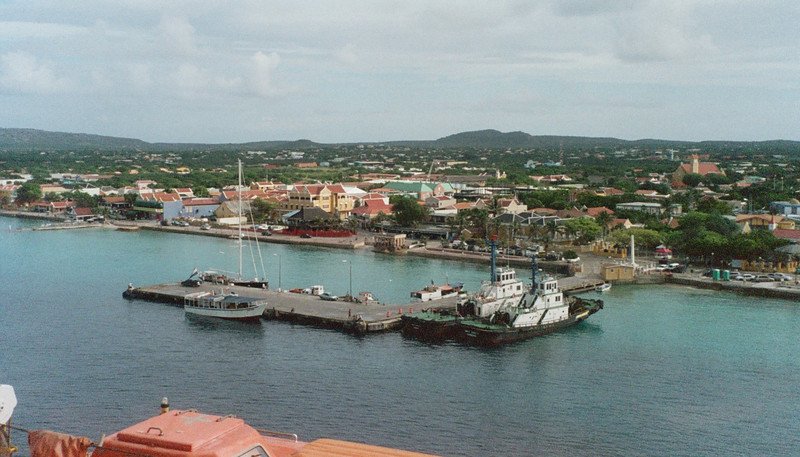 The harbor at Bonaire
