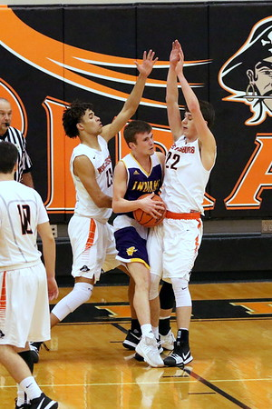 20 Boys Basketball:  Valley at Wheelersburg 2018