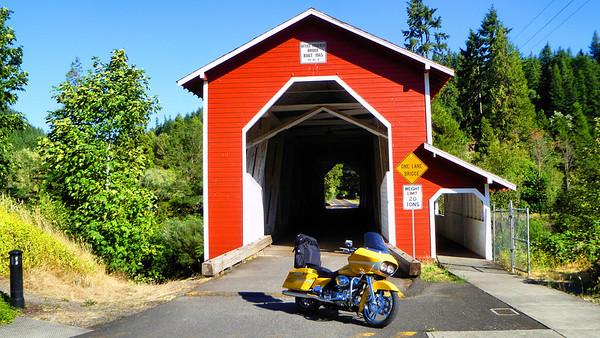 Oregon Ride 2010 Day 2 - McKenzie Pass