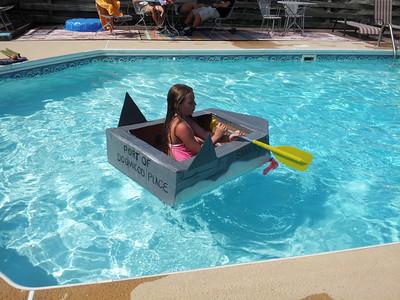 Simmons 4th Annual cardboard Boat Regatta