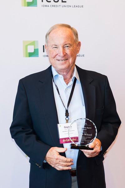 Gaylen Witzel, Cooperative Spirit Volunteer Award