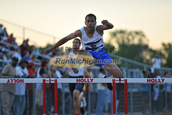300 Meter Hurdles - 2012 Oakland County Track Meet