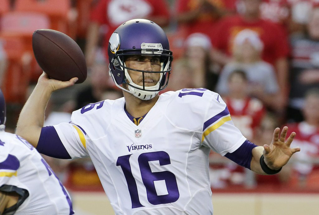 """. 1. MATT CASSEL <p>Now that he�s the official starter, Vikings fans can get ready to boo him off the field. (unranked) </p><p><b><a href=\""""http://www.twincities.com/sports/ci_26401179/vikings-players-told-matt-cassel-will-start-at\"""" target=\""""_blank\""""> LINK </a></b> </p><p>    (AP Photo/Charlie Riedel)</p>"""