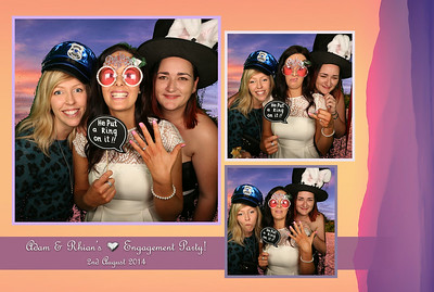 Adam & Rhian Engagement Party Photo Prints