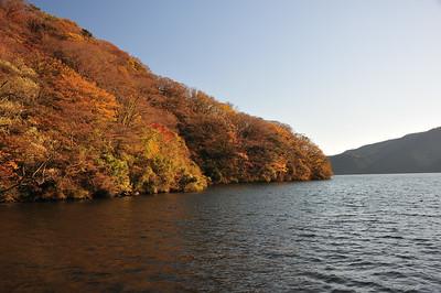Hakone Lake Ashi East Shore Hike in Nov. '17