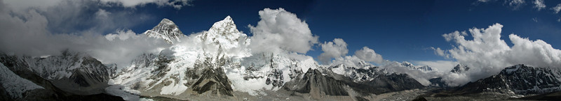 View from the top--Everest, Nuptse & more