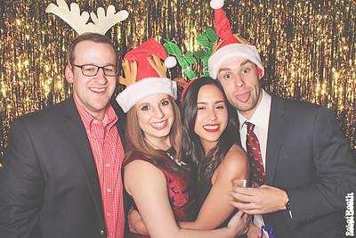 12-21-17 Atlanta The Gathering Spot Photo Booth - Porter Novelli Holiday Party - Robot Booth