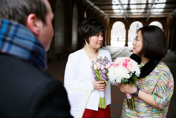 Juliet and Izabel's Central Park wedding 3-1-15