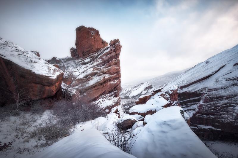 Winter Blanket || Red Rocks