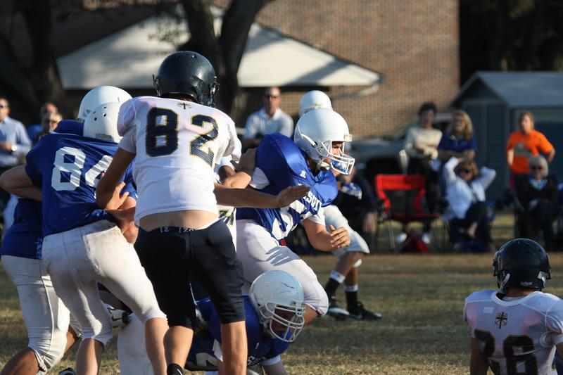8th Football vs. Jesuit 048.JPG