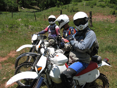 Jemez Mtns. - Lake Fork-FR's 144, 315, 117-Moon Can.,-Rito Del Indio-Joaquin Can. DS-ST Ride  7-12-09