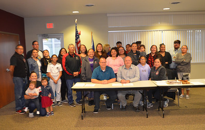Tama Toledo Proclamation Signing for Indigenous People's Day