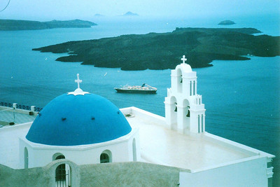 Santorini Greece April 1999