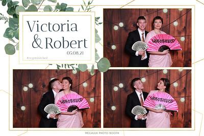 Victoria & Robert's Wedding Prints