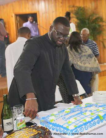 Rev Ethan's 10th Anniversary Service. Exuma Bahamas