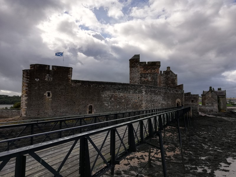 blackness castle scotland