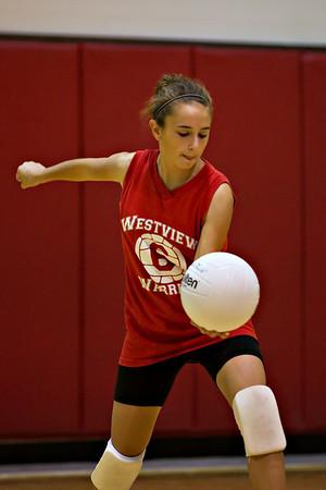"""7th Grade Girls """"B"""" Volleyball"""