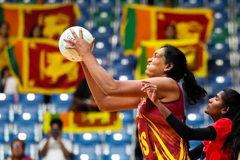 M1 Asian Netball Championships 2018 - Sri Lanka Vs Malaysia