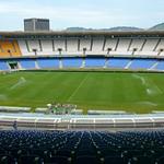 The Maracana famous stadium in Rio de Janeiro, Brazil
