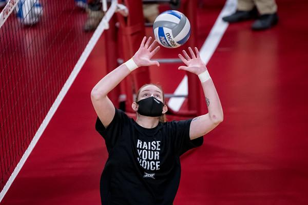 ISU Volleyball vs Baylor 10/23/20