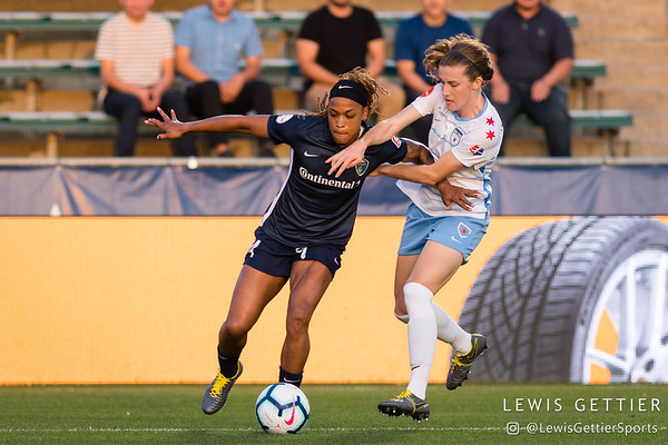 NC Courage vs Chicago Red Stars 4-13-2019