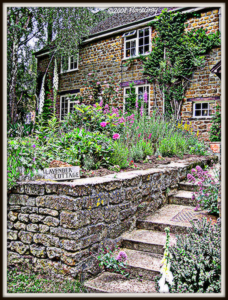 Lavender Cottage; Wroxton, Oxfordshire, UK