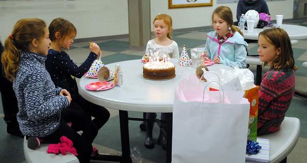 Cora's 8th Birthday
