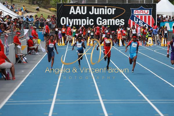100m Semifinals