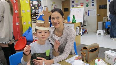 PCR Kindergarten Parents Get Festive