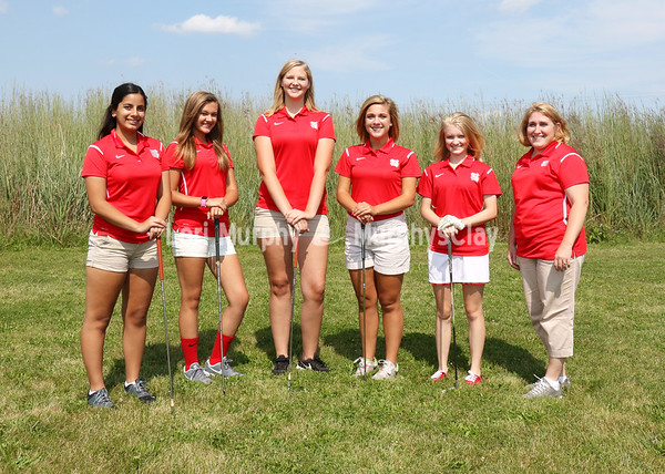 SNHS Girls Golf Team 2017