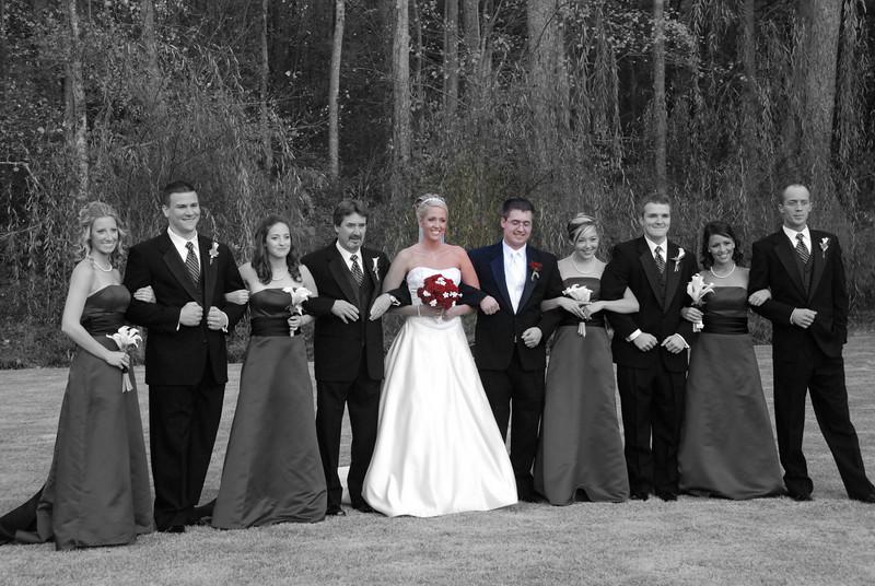 Wedding party, Lysa & Kyle