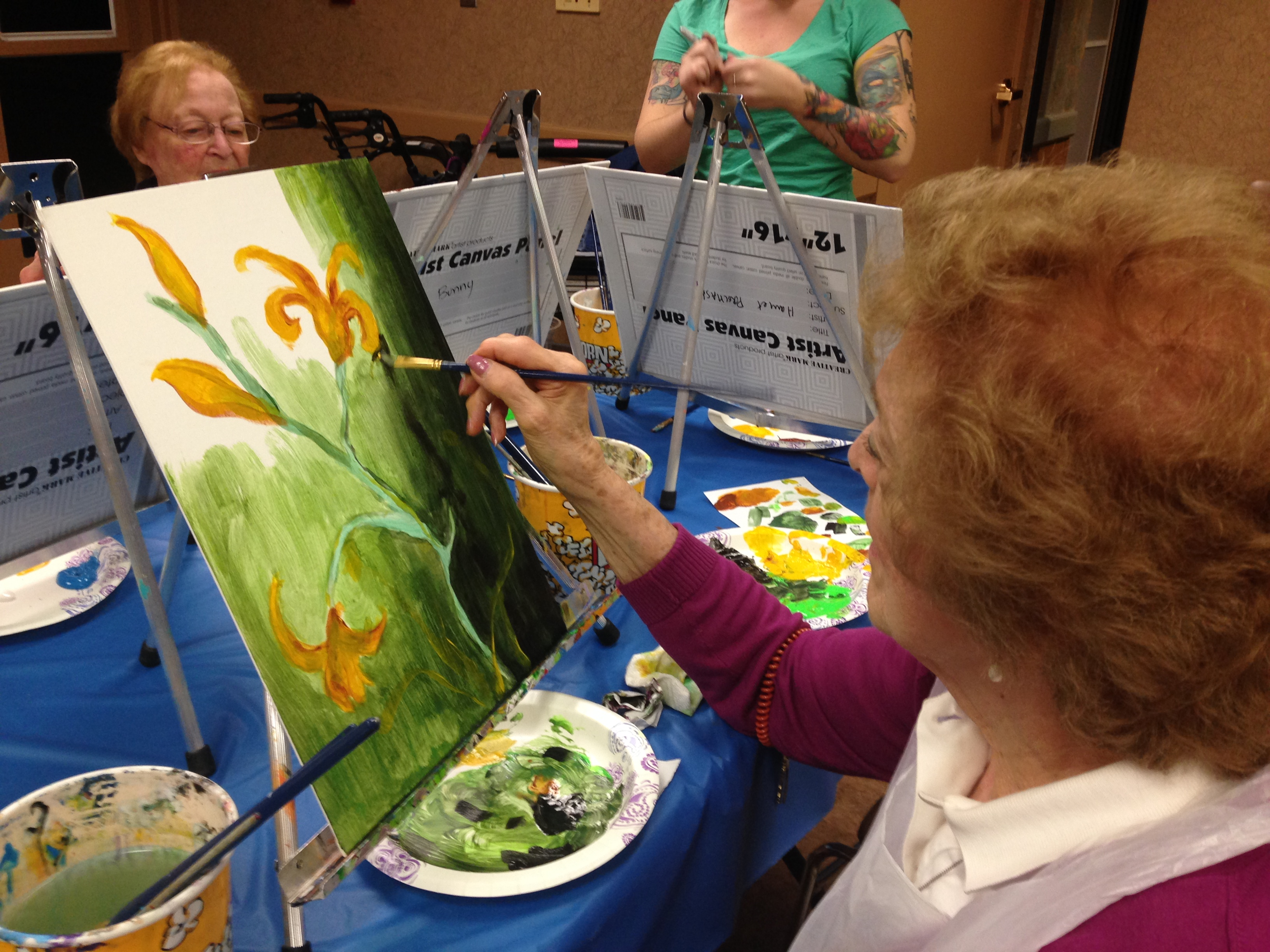 Painting Party at Stone Gardens 11-18-2015